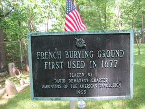FrenchBuryingGroundMarker